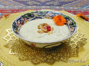 Ayurvedischer Milchreis mit Kardamom