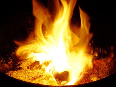 Feuer, Feuerschale.