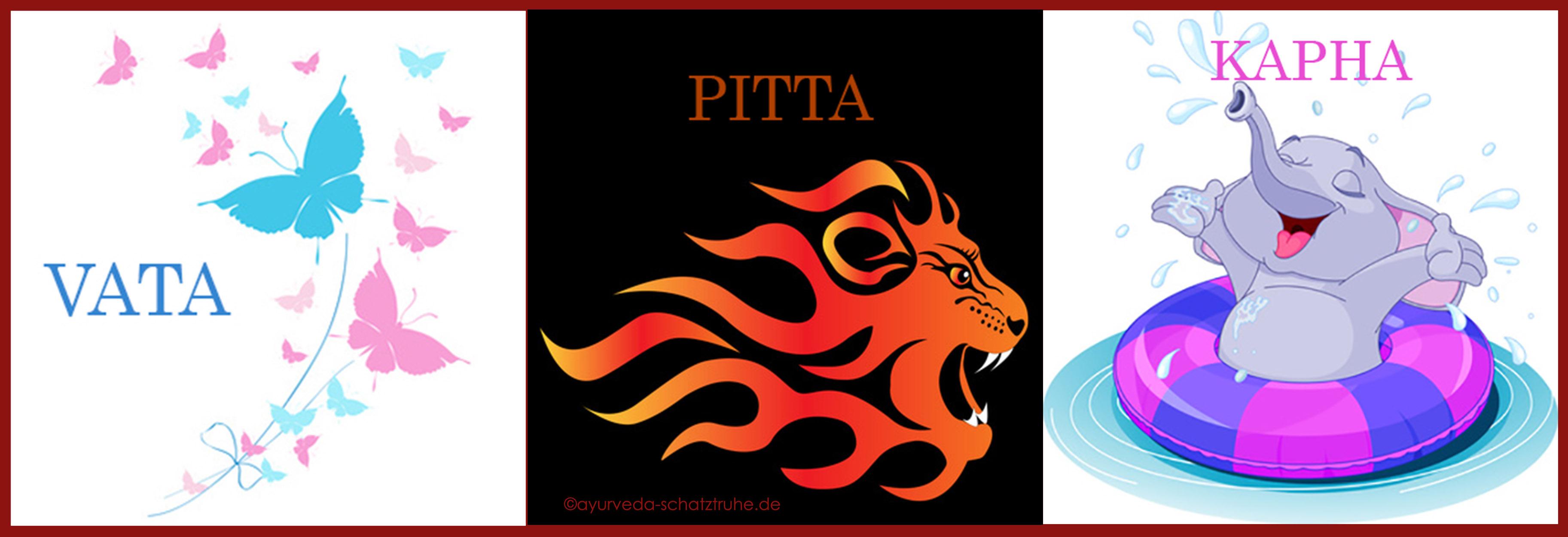 Die 3 Doshas: Vata, Pitta, Kapha