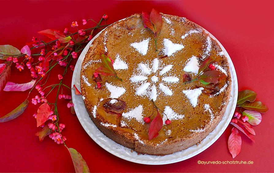 Rezept Zwetschgen-Vanillekuchen