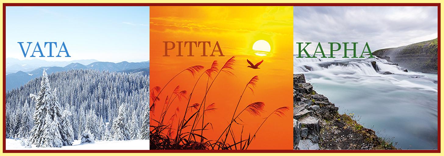Vata, Pitta, Kapha in den Jahreszeiten