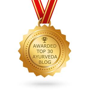 Ayurveda Schatztruhe gehört zu den 30 besten Ayurvedablogs der Welt