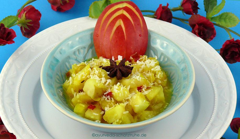 Ayurvedisches Apfelchutney