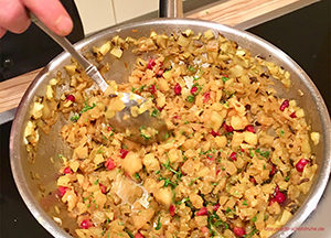 Ayurvedischer Salat