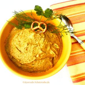 Neues Hummus Rezept Ayurveda