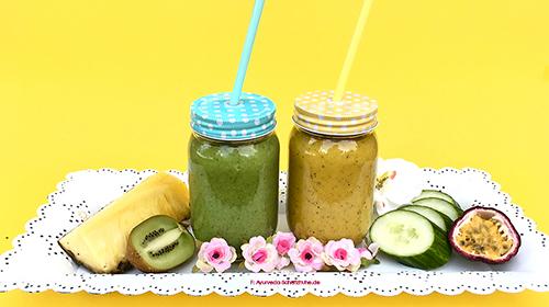Ayurveda Pitta Sommer heiß smoothie