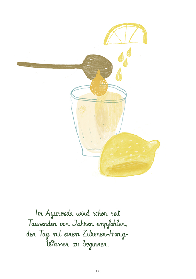Ayurveda Zitronen Honig Wasser